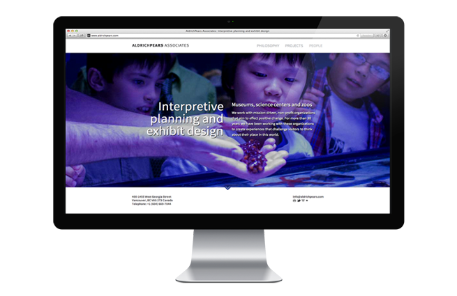 A new website for one of the world's preeminent interpretive planning and exhibit design companies.