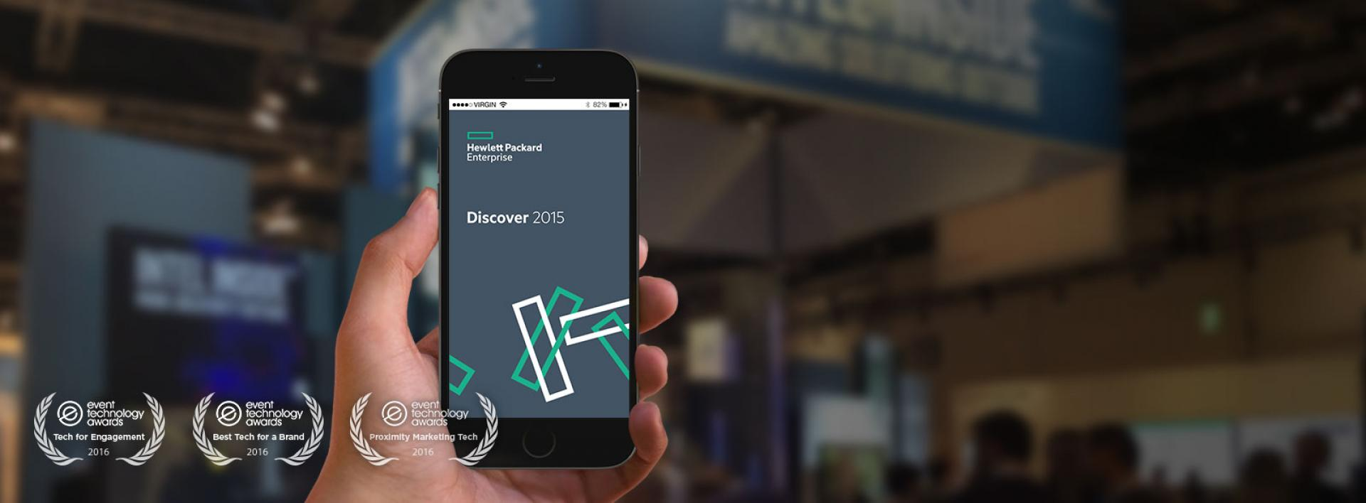 Hewlett Packard Enterprise Discover App